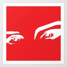 Eyes2 Art Print