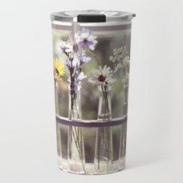 Windowsill Flowers Travel Mug