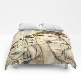 Silence shower Comforters