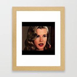 You look better than Veronica Lake Framed Art Print