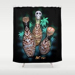 BC tiki Shower Curtain