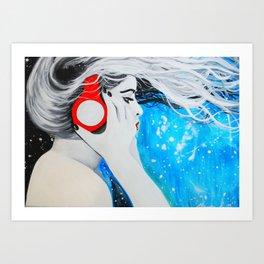 The Sound of Creation  Art Print