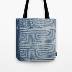 Indgo Paste Print Tote Bag