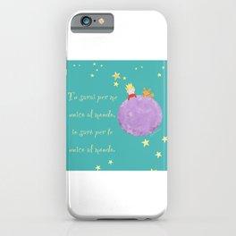Il piccolo principe iPhone Case