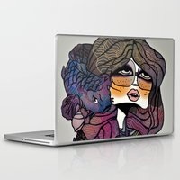 pisces Laptop & iPad Skins featuring Pisces by annabours