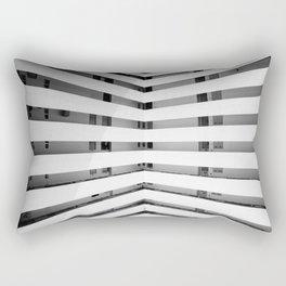 Folded Lines Rectangular Pillow