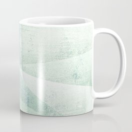 Frozen Geometry - Teal & Turquoise Coffee Mug