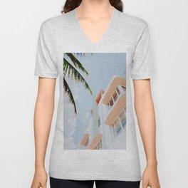 ocean drive / miami beach, florida Unisex V-Neck