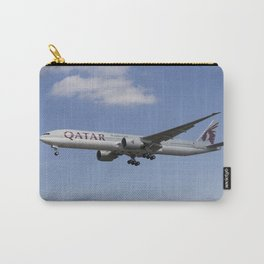 Qatar Airlines Boeing 777 Carry-All Pouch