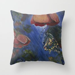 Shelter in the Storm Throw Pillow