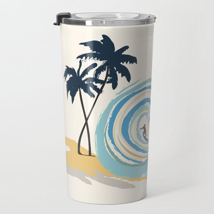 Minimalistic Summer II Travel Mug