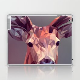 Colorful Polygons Abstract Deer Laptop & iPad Skin