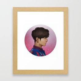 BTS Jungkook Framed Art Print