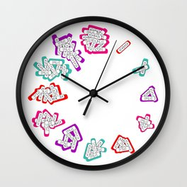 xano'clock Wall Clock
