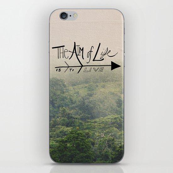 The Aim of Life iPhone & iPod Skin