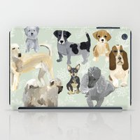 dogs iPad Cases featuring Dogs by Augustwren