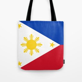 Philippines national flag Tote Bag
