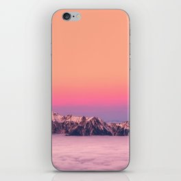 Silence over the Mountains iPhone Skin