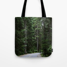 Lost in the forest of Whistler Canada Tote Bag