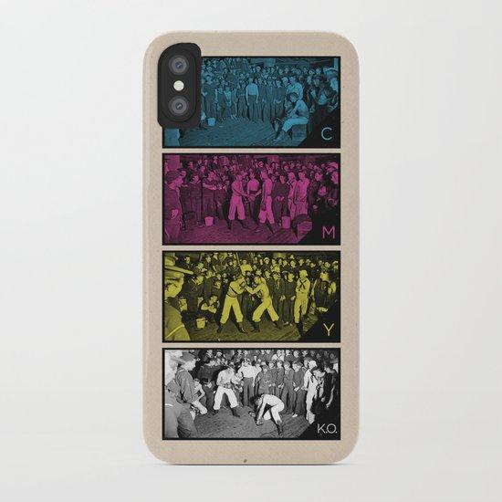 CMYK.O. iPhone Case
