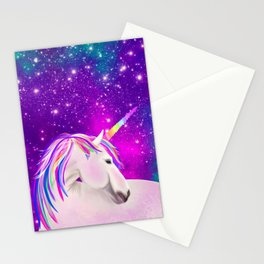 Celestial Unicorn Stationery Cards