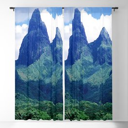 The Land That Time Forgot: Marquesas Tropical Islands Blackout Curtain