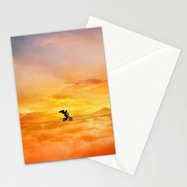 sunset balance Stationery Cards