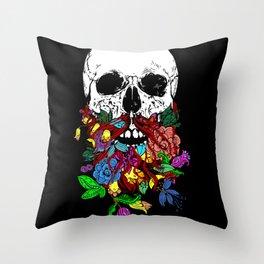 Beardtanical Throw Pillow
