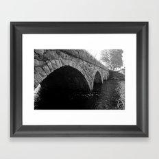 The Pleasant Street Bridge Framed Art Print