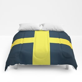 Flag of Saint David Of Wales Comforters