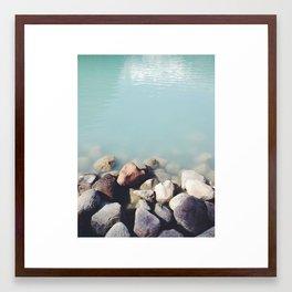 Milky Waters  Framed Art Print