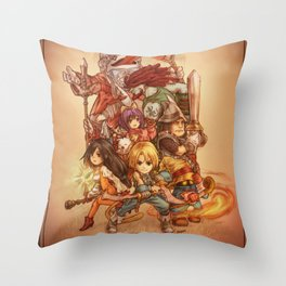 Final Fantasy IX Throw Pillow