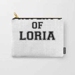 Property of LORIA Carry-All Pouch