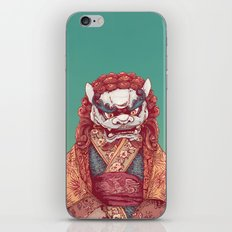 Imperial Guardian Lady iPhone & iPod Skin