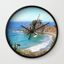coastal overlook Wall Clock