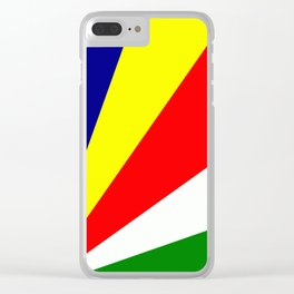 Flag of Seychelles Clear iPhone Case
