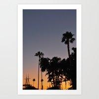 san diego Art Prints featuring San Diego by Patrick Rodden