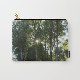 Sun behind the trees  Carry-All Pouch