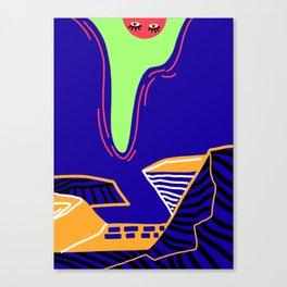 A Sneak peek Canvas Print