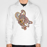 large Hoodies featuring Large Mehndi by RevvyIllustrations