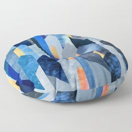 Kyanite & Salt Stone Floor Pillow