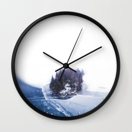 Silence of Winter Wall Clock