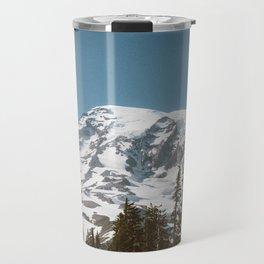 Retro Rainier Travel Mug