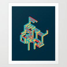 Future Art Print