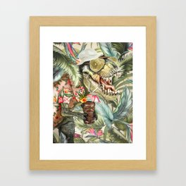 Hunter S. T-Rex Framed Art Print