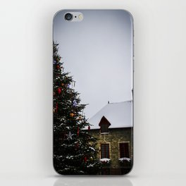 Chistmas in Old Quebec iPhone Skin