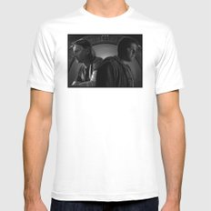 Brain Boxes White MEDIUM Mens Fitted Tee