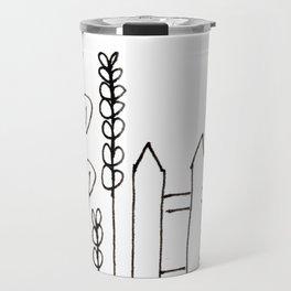 perky pickets Travel Mug