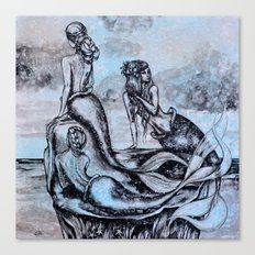Mermaid  Lagoon Canvas Print