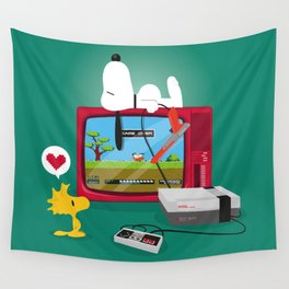 Duck Game Wall Tapestry